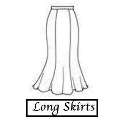 235-1ong skirts