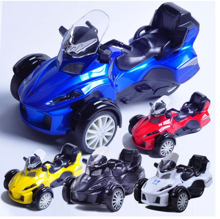 Hot Child Bombardier Pour Multi Classic Motorcycle Toy Model Alloying Sound And Light Alloy 1:12 Gift Free Door(China (Mainland))