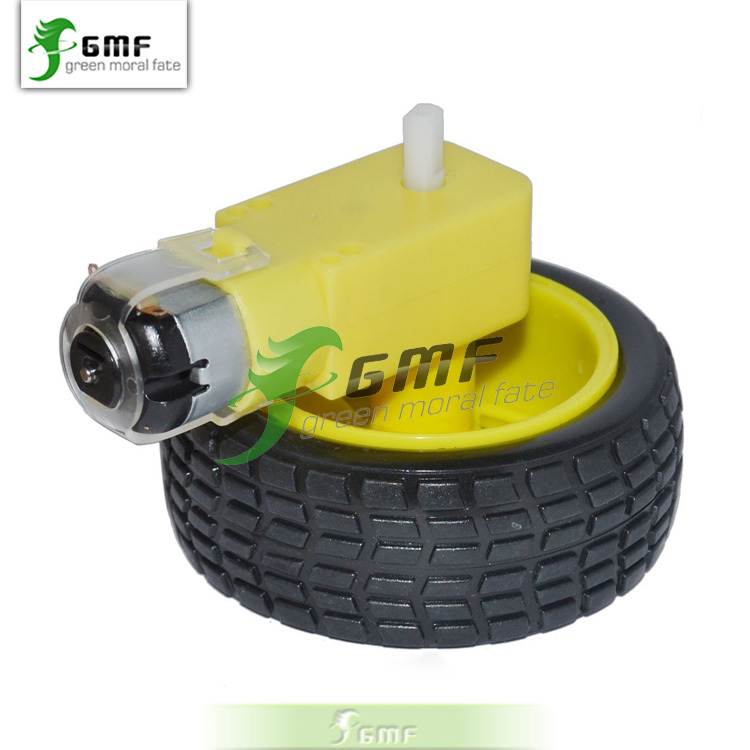 Free shipping 1set intelligent barrow load chassis robot for Robot motors and wheels