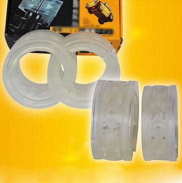 2 шт. сверхдержава переднего амортизатора буфер спиральная пружина подушки для
