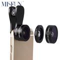 Universal Clip On Camera Lens Kit 0 36X Super Wide Angle 15X Macro Lens 195 Fisheye