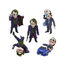 Joker 5pcs/set Action Figure 1/12 scale painted figure The Dark Knight Joker Dolls PVC ACGN figure Garage Kit Brinquedos Anime