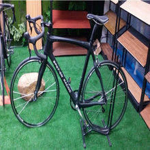 2015 newest style inter line full carbon fiber Bicycle double V brake system complete carbon road bike High-end Road bikes(China (Mainland))