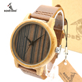 2016 Handmade Bamboo Watches Men and Women Luxury brand BOBO BIRD Quartz Watch Men Wooden wristwatches