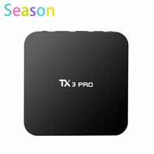 Buy Latest TX3 PRO Android 6.0 Amlogic S905X Quad core Set top box 1G/8G Android TV Box HDMI H.265 WIFI Media Player Smart tv box for $39.10 in AliExpress store