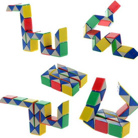 Snake Magical Magic Toy Twist Snake Cube