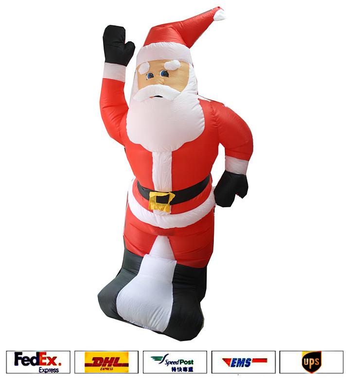 Ups dhl ree shipping m ft christmas santa claus