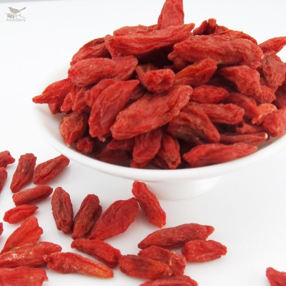 2015 Amorberry Super Dried Goji berries, Bulk Organic Wolfberry Gouqi Berry Herbal Tea Puer goji berry 250g For Weight Loss<br><br>Aliexpress