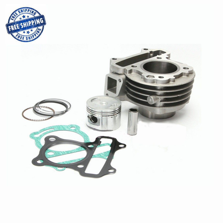 GY6 100cc 50mm engine parts Cylinder Kit of 139QMB 139QMA Engine for Znen Keeway Baotian