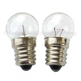 Mini night light 2.5v 3.8v 4.8v 4.9v6v6 . 2v 0.3a 0.5a5w screw-mount e10 flashlight bulb(China (Mainland))
