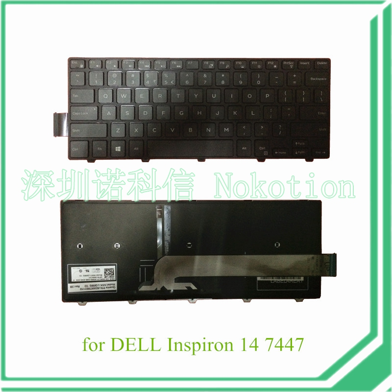 Aliexpress.com : Buy laptop keyboard for Dell Inspiron 14 7447 NSK