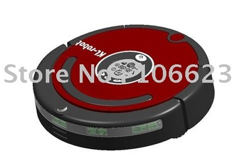 Wholesale Freeshipping KL560 High Quality Cheap Automatic Sweep Household Cleaner Robot Vacuum Virtual Wall Charging Stat
