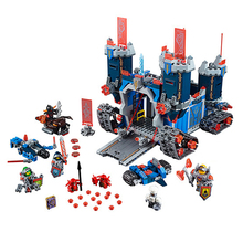 LEPIN 14006 Nexus Knights Fortrex Castle Building Blocks 116Bricks Super Large Size Toys Children - eGold Store store