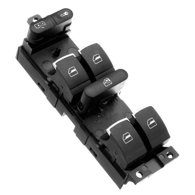 Buy 1set black master window switch panel bezel handle for 2000 vw beetle power window switch