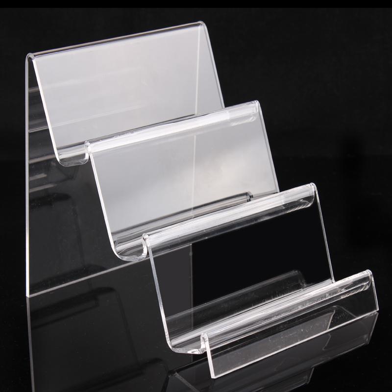Earphone display shelf 3 layer Jewelry displays shelf wallets show digital items stand jewelry organizer factory price(China (Mainland))