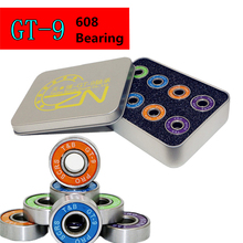 Buy Original T&B GT-9 608 608z Bearing Inline Skates Roller Skating Skate board Skateboard Scooter, Smoothy Anti-rust Low Noise for $15.11 in AliExpress store