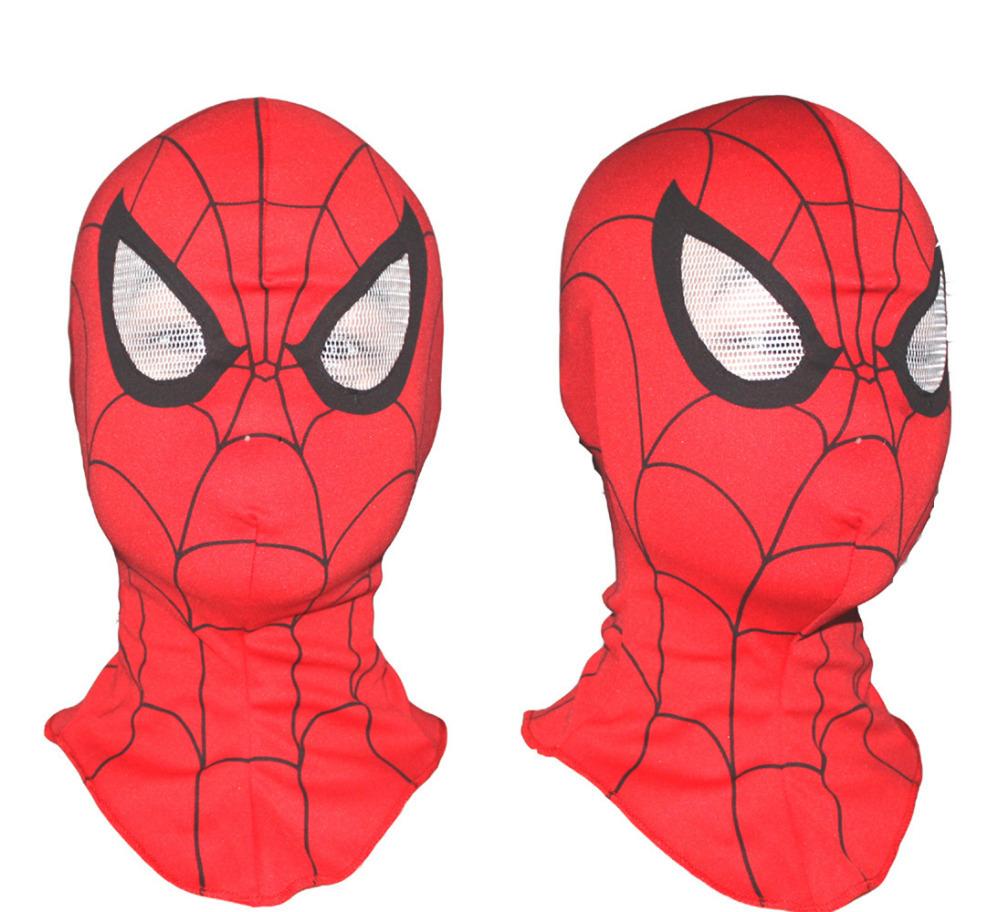 3pcs/lot Super Cool Spiderman Mask Cosplay Hood Party Masks , Full Head Halloween Masks(China (Mainland))
