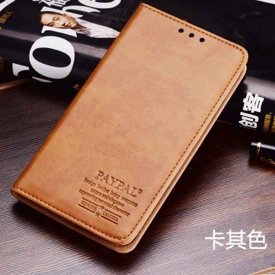 High qulity Paypal genuine leather flip cover case for Huawei Mate 8 cell phone case for Huawei Mate 8 cover free shipping(China (Mainland))