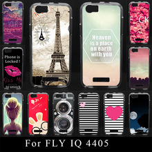 Buy FLY IQ 4405 IQ4405 Case Soft Silicone Colorful Printing Drawing Transparent Plastic Phone Cover tpu mobile Phone Cases for $2.75 in AliExpress store
