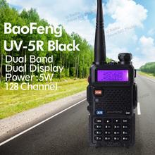Heißer verkauf Tragbare Funk Baofeng UV-5R funkgeräte Walkie Talkie pofung 5 Watt vhf uhf dual band 136-174 400-520 MHZ baofeng uv 5r(China (Mainland))