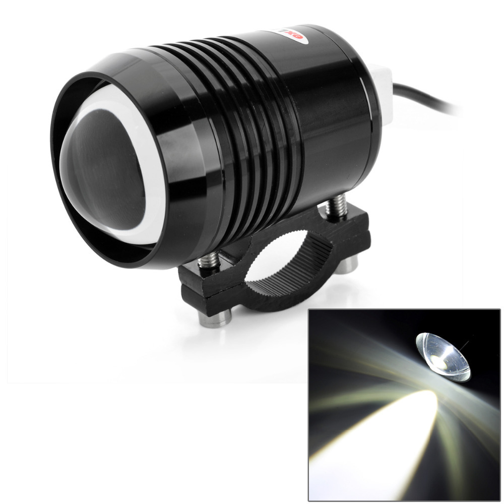 1 PCS 125W 2 Color Motorcycle Motorbike Headlight 3000LMW High Low Beam Flash CREE U2 LED