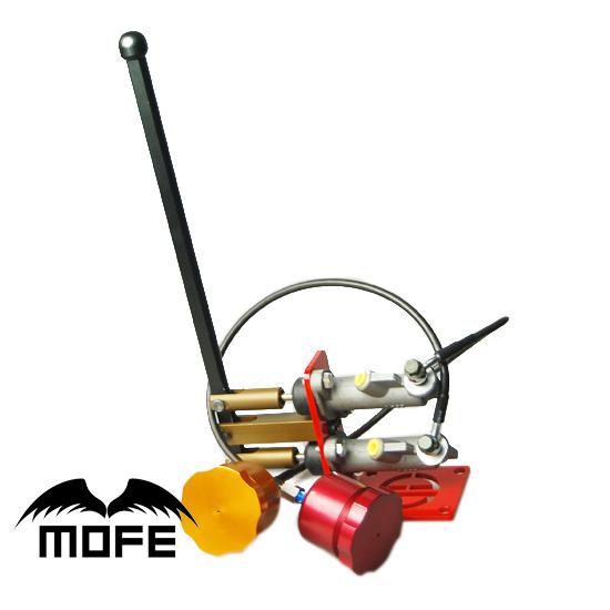 "Фотография MOFE Dual 0.7"" Cylinder Lever Length: 40cm Hydraulic Drift Rally Handbrake Hand Brake E-brake"