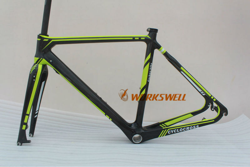full carbon bicycle cyclocross frame racing road carbon frame(China (Mainland))