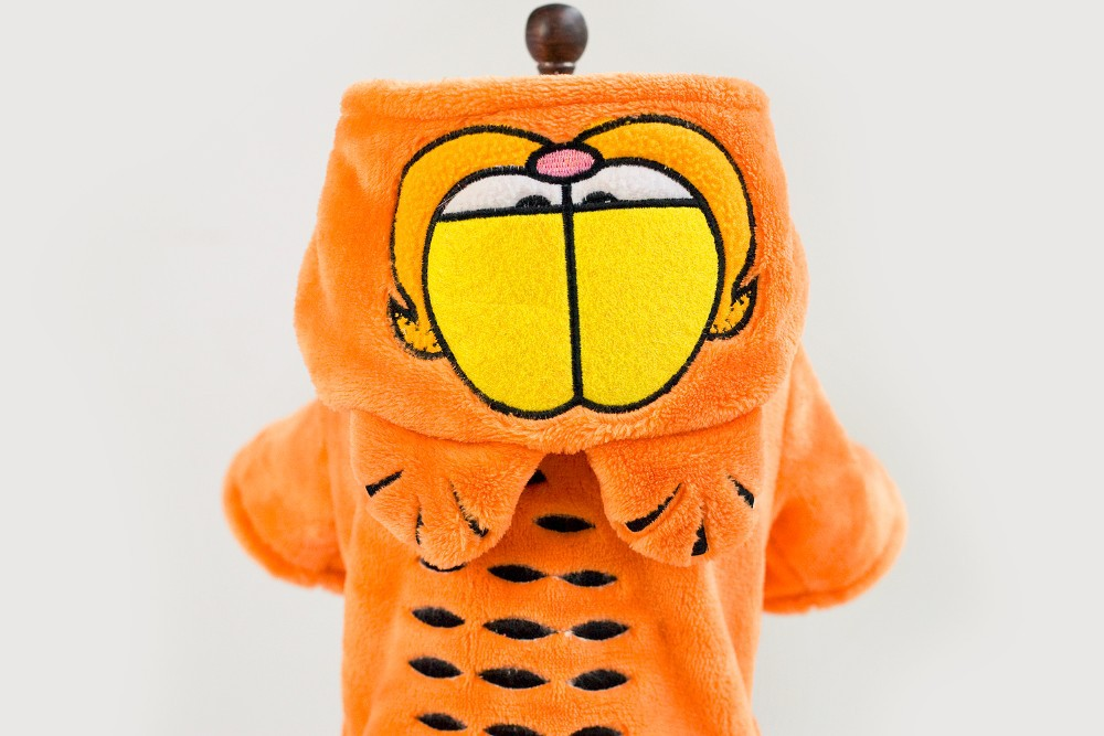 2015 hot selling cartoon garfield windproof style small dog clothes 2015 hot selling cartoon garfield windproof style small dog clothes with hat free shipping dogs clothes new clothing for dog us26 fandeluxe Choice Image