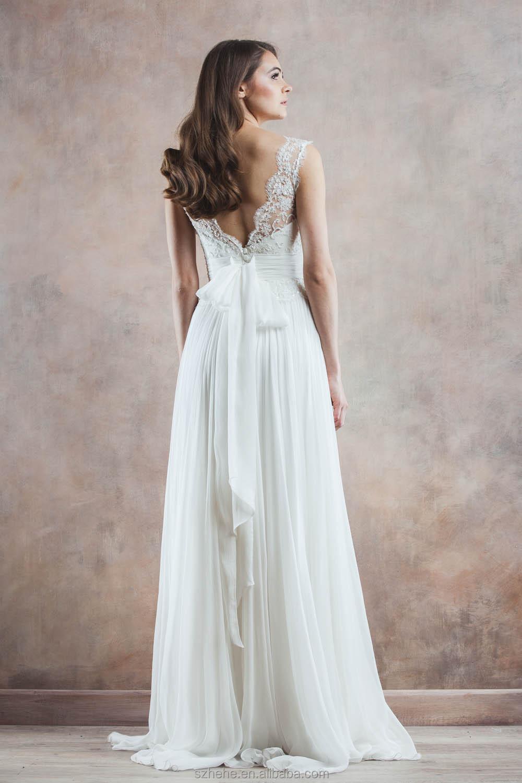 Simple Western Wedding Dresses