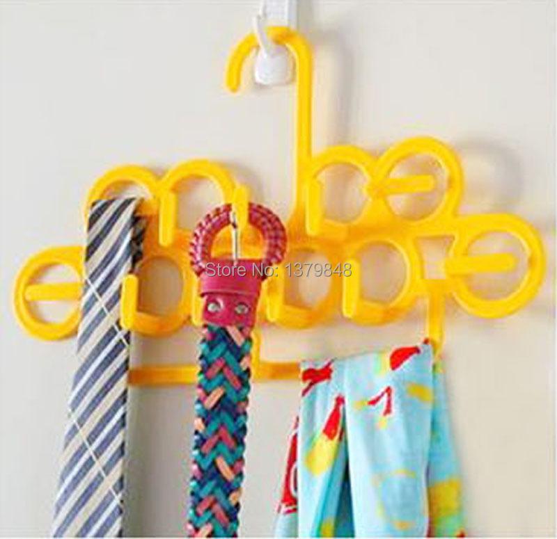 magic hanger multifunctional rack belt rack tie rack silk scarf storage rack(China (Mainland))