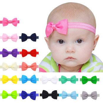 Baby Headband Girl Toddler Bowknot Hair Band 17 Colors Hair Accessories Filles Accessoires cheveux