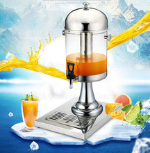 Free shipping 8L Cold drink dispenser machine commercial cold hot juicer dispenser by Hosalei with fast shipment(China (Mainland))