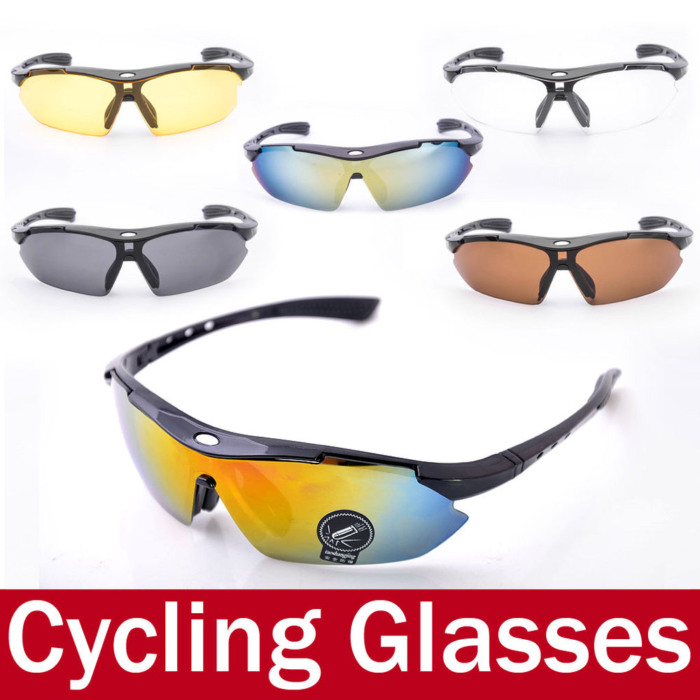 Summer Style Men Mountain Bike Bicycle Cycling Glasses UV400 Lenses Outdoor Protective Sport Sunglasses Eyewear oculos ciclismo(China (Mainland))