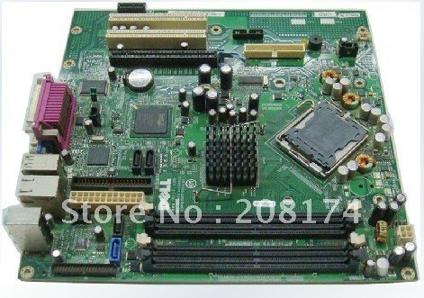 Desktop Motherboard for dell GX620 PCI-Express X16 intel 945G Free shipping(China (Mainland))