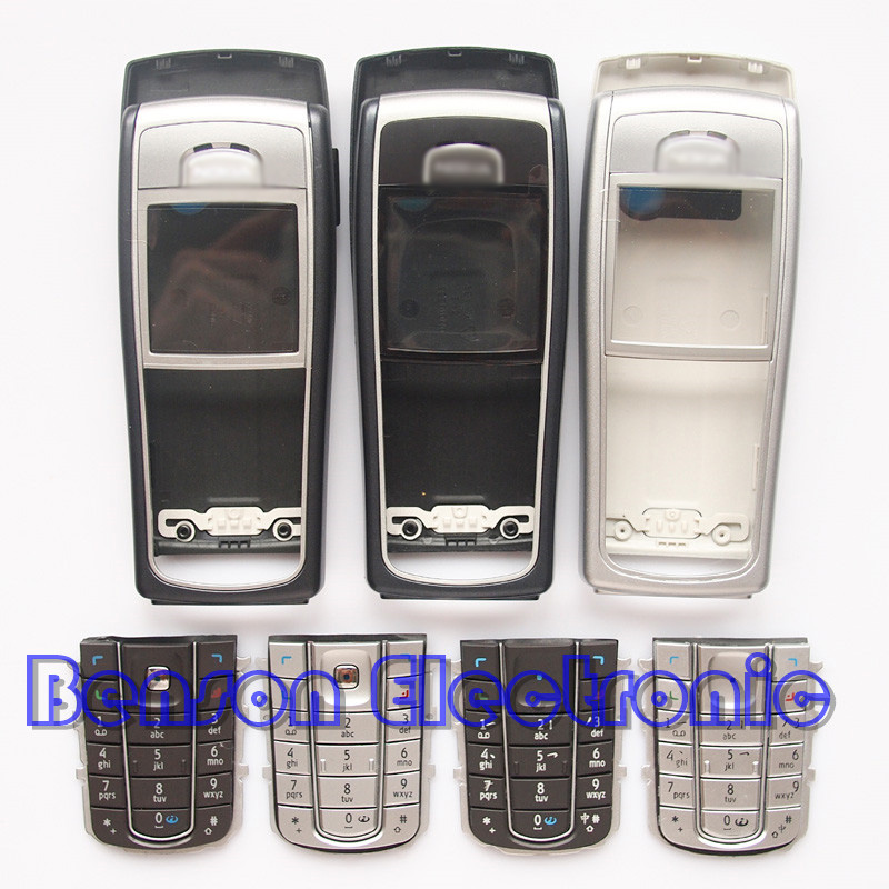 For Nokia 6230 6230i Brand New High Quality Phone Housing Case With Keyboard(China (Mainland))