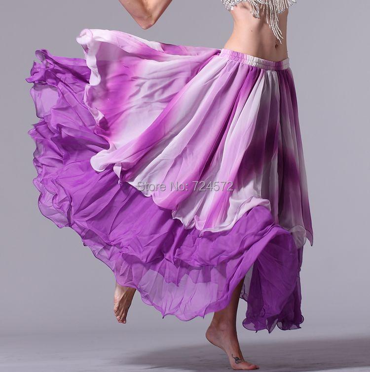 Здесь можно купить  Belly dance gradient dress dance expansion skirt belly dance gradient color chiffon skirt Belly dance gradient dress dance expansion skirt belly dance gradient color chiffon skirt Одежда и аксессуары