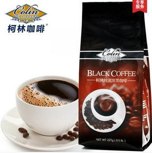 Colin 100 instant coffee black Smooth pure coffee without milk powder imported from sugar free drink