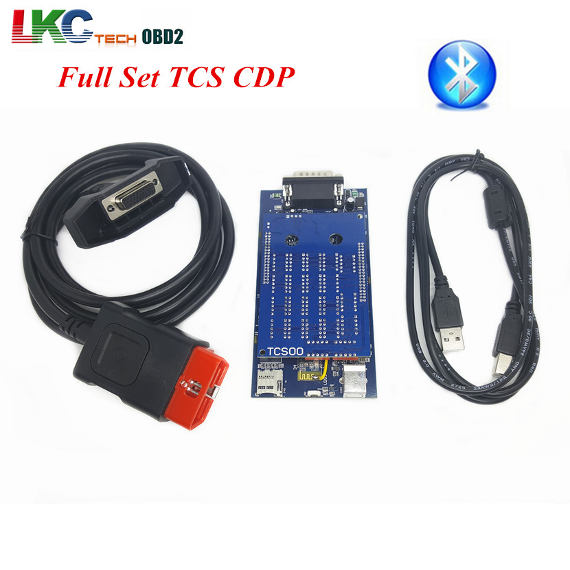 2016 TCS CDP PRO Bluetooth NEW VCI Car/Truck/Generic 3 IN1 2014 R2 With Keygen Software Auto Diagnostic Tools CDP PRO PLUS(China (Mainland))
