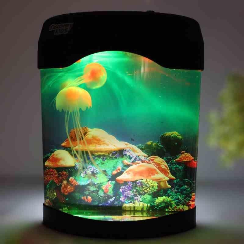 Popular toy jellyfish aquarium buy cheap toy jellyfish for Discount fish tanks