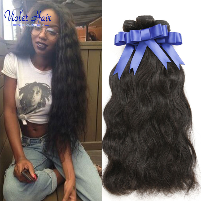 KBL Brazilian Virgin Hair Weave Bundles Mix Length 100g Brazilian Hair Natural Wave wet and wavy human hair tissage bresilien<br><br>Aliexpress