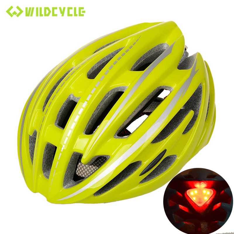 WILDCYCLE Men 2016 Road Bike Light Helmet EPS Cascos Bicicleta Carretera Bicycle Accessories Sport Cycling Safety Helm,220g(China (Mainland))