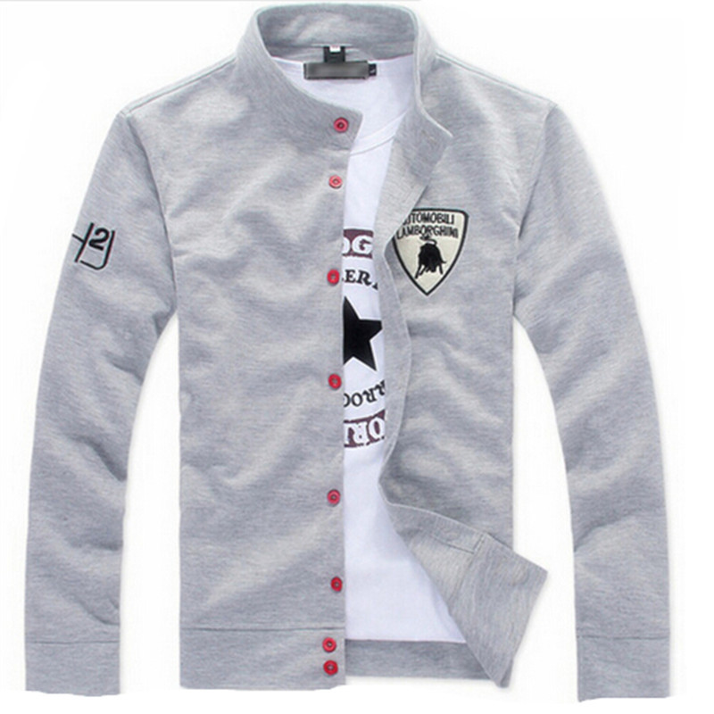 2015 New men's boutique leisure pure cotton Sweatshirts/Male fall leisure coat/Men labeling casual jackets / Men leisure hoodies(China (Mainland))