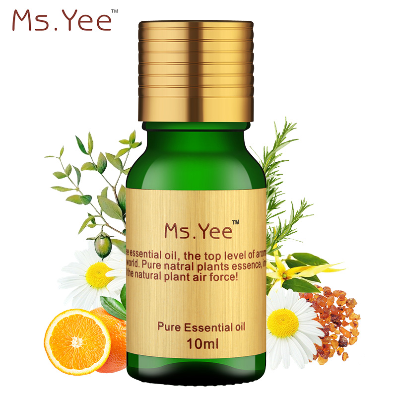 Essential Oils for Aromatherapy Diffusers Pure Plant Extracts Oil for Neck Skin Care Anti Aging & Bath Body Massage Olie 10Ml(China (Mainland))