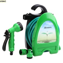 Expandable Flexible Magic Water Hose Irrigation Stretch Car Garden Hoses Pipe Watering With Spray Gun 32.8ft  R20(China (Mainland))