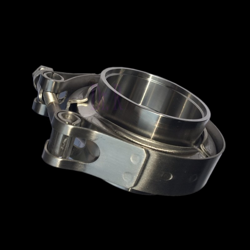 high performance cnc 304 stainless steel v band clamp flange