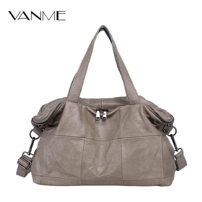 2017 Limited Hot Sale Classic Women Genuine Leather Shoulder Bag Luxury Brand Zipper Plaid Design Handbag Vogue Star Crossbody(China (Mainland))