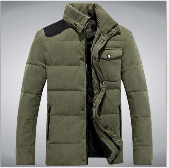 2014 new winter jacket men slim fit clothing men duck down jacket men jackets winter coat