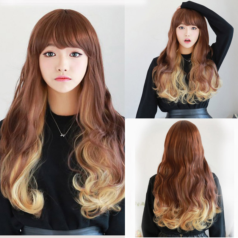 Lolita Harajuku Wig Straight Synthetic Wigs Pelucas Pelo Natural Cheap Anime Cosplay Wig Perruque afro Women Perucas Sintetico<br><br>Aliexpress
