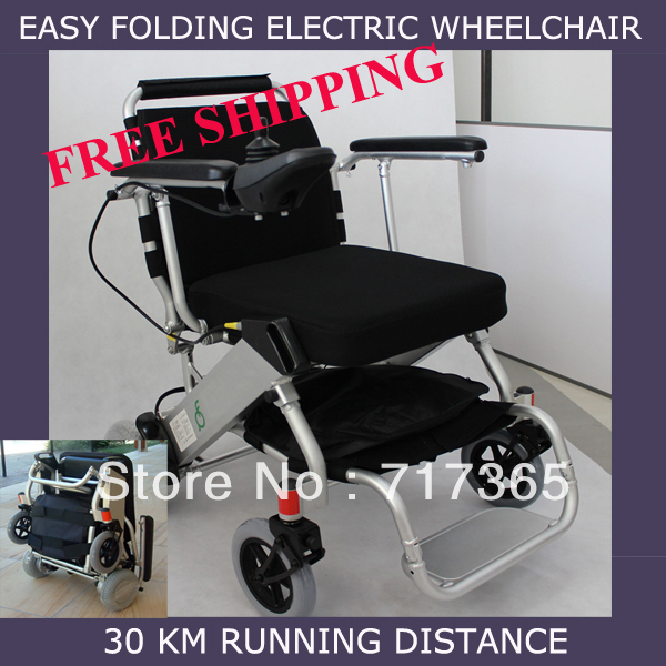Electric Wheelchair Light Weight 18kg Folding In 5 Seconds