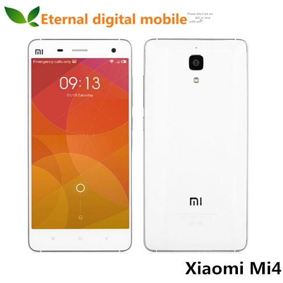 Мобильный телефон Xiaomi Mi4 4 M4 4G LTE 801 3 16 13.0mp 1920 X 1080 GPS мобильный телефон xiaomi mi4 m4 64 16 5 0 fhd 4g lte 801 3 13 4 4